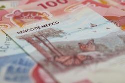 Dinero Mexicano muestra detalles del el peso mexicano