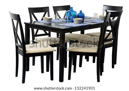 Dining table. #132241901