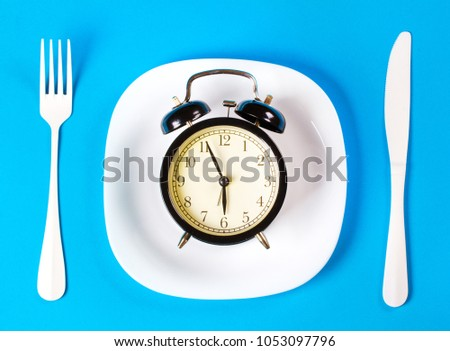 dinner evening plate fork knife #1053097796