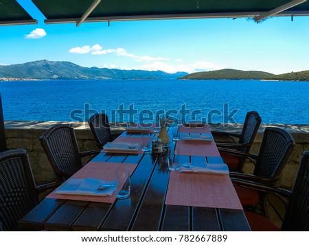 Dinnertable in Dubrovnik