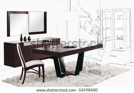 dinning room background
