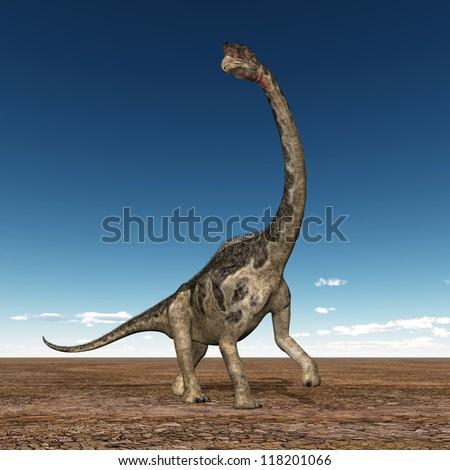 Dinosaur Europasaurus Computer generated 3D illustration