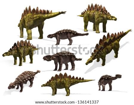 Walking With Dinosaurs 3d Ankylosaurus Stegosaurus and ankylosaurus Walking With Dinosaurs Edmontonia