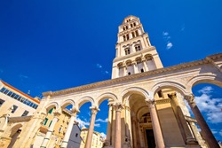 Diocletian palace UNESCO world heritage site in Split, Dalmatia, Croatia