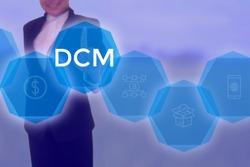 Direct Contribution Margin or Demand Chain Management - business concept