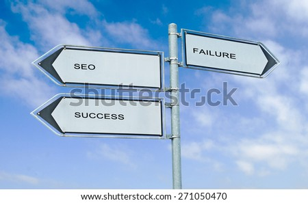 Direction road sign with  words \