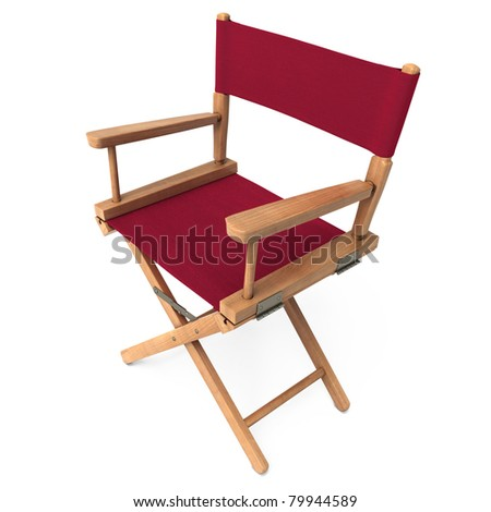 Director Chair (clipping path)