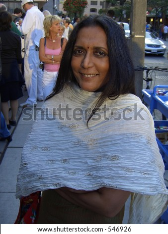 Director Deepa Mehta at Toronto Film Festival