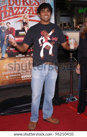 Director JAY CHANDRASEKHAR at the Los Angeles premiere of his new movie The Dukes of Hazzard. July 28, 2005 Los Angeles, CA  2005 Paul Smith / Featureflash