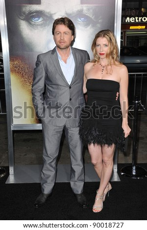 """Director Mikael Håfström and wife kelly at the world premiere of his movie """"The Rite"""" at Grauman's Chinese Theatre, Hollywood. January 26, 2011  Los Angeles, CA Picture: Paul Smith / Featureflash mikael halfstrom"""
