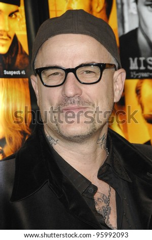 """Director NICK CASSAVETES at the world premiere of his new movie """"Alpha Dog"""" at the Arclight Theatre, Hollywood. January 3, 2007  Los Angeles, CA Picture: Paul Smith / Featureflash"""