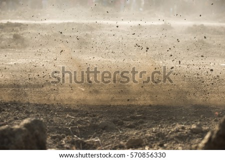dirt fly after motocross roaring by #570856330