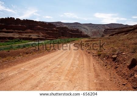 Dirt Road, Monument Valley, Utah