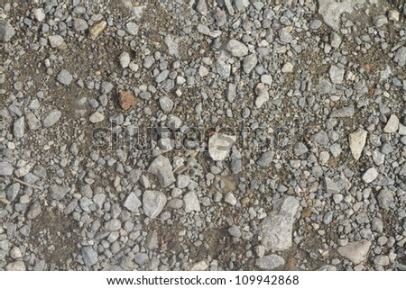 Dirt Track background and texture close up