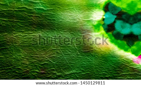 Dirty Art. Vintage Dirty Art. Vivid Green Texture. Tie Dye Watercolor Pattern. Abstract Dirty Art Pattern. Dirty Art Illustration.