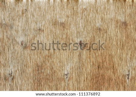 Dirty brown plywood fabric background
