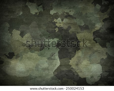 dirty camouflage for background