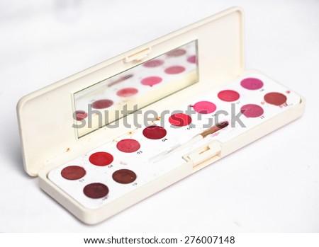 Dirty cosmetic box