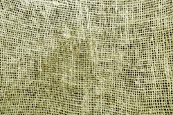 Dirty cotton canvas pattern in yellow tone. abstract background and texture