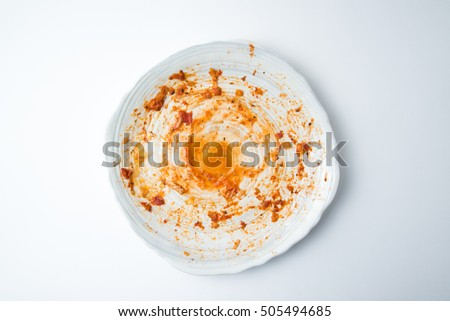 dirty dish #505494685