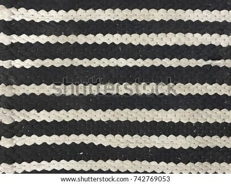 Dirty mat pattern