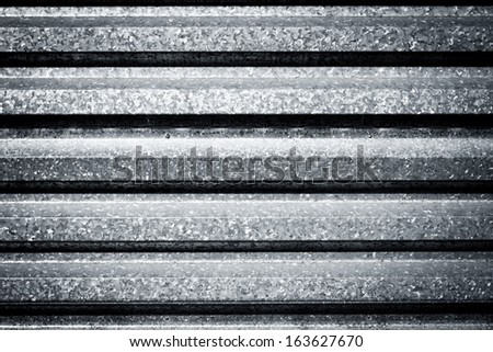 Dirty metal fence background texture