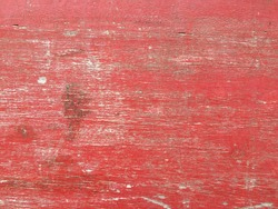 Dirty old vintage red wood scratch wall texture background