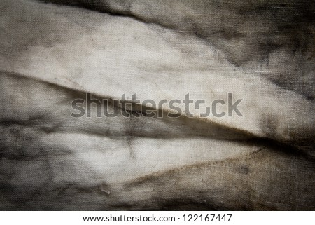 dirty rag like an abstract background