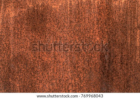 dirty rusty metal texture ...