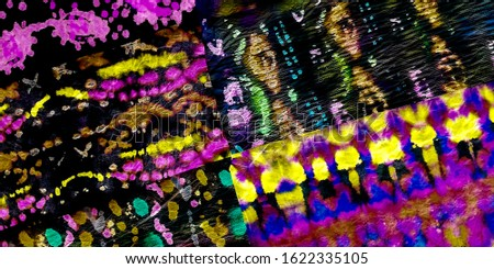 Dirty Splatter Paint. Fluorescent Graffity Wallpaper. Psychedelic Dirty Art Pattern. tie die texture Fluorescent Shirt. Fluorescent Bokeh Particle Graffiti.