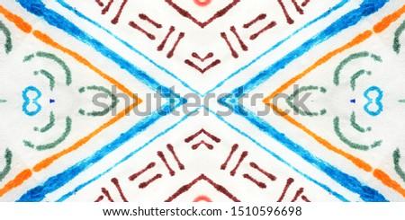 Dirty Vibrant Decor. Vibrant Orange Ornament. Active White Stains. Multicolor Random Background. Abstract Repeat Wallpaper. Geometric Repeat Black Pillow.