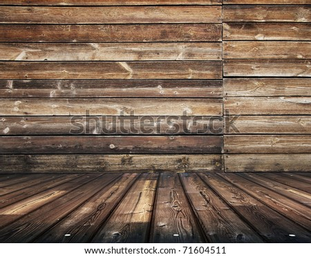 dirty wooden slum, vintage background