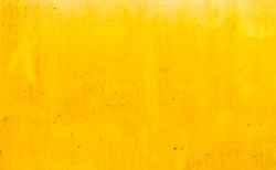 Dirty yellow metal plate surface texture background