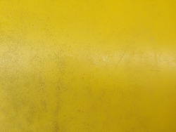 Dirty yellow plastic texture