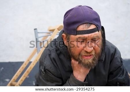 Disabled homeless.