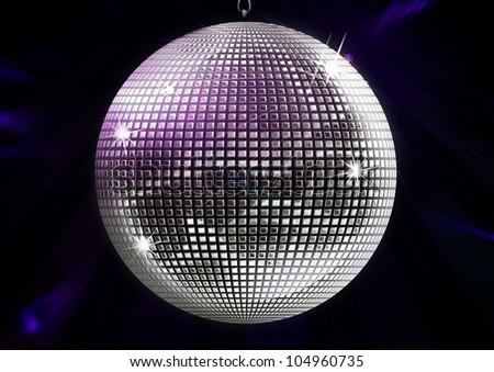Disco-ball Illustration