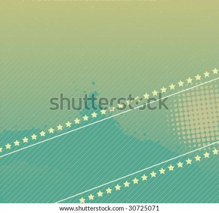 Disco Grunge Design Banner