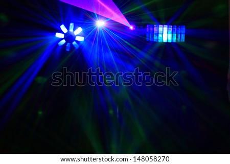 Disco. Laser show. #148058270