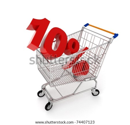 discount in shopping cart - 10%