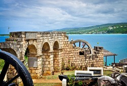 Discovery Bay Monument in St. Ann