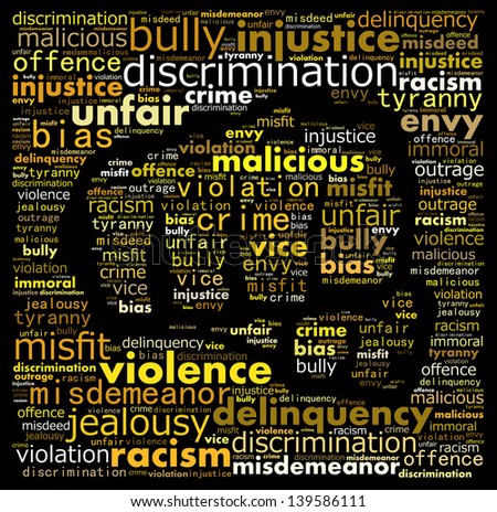 the concept of racism and abuse
