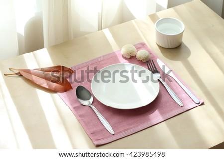 dish set #423985498