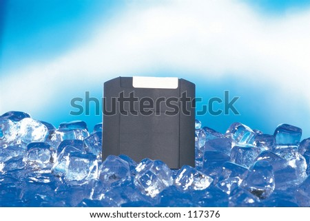 Disk with Ice
