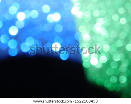 Display bokeh effect and light effect  #1522108433