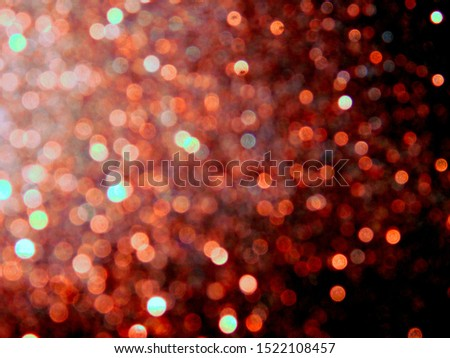 Display bokeh effect and light effect