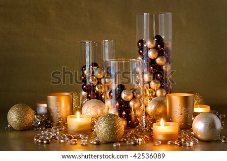 Christmas decor on pinterest brown christmas decorations christmas centerpieces and ornaments - Appealing christmas led candles for christmas decorations ...