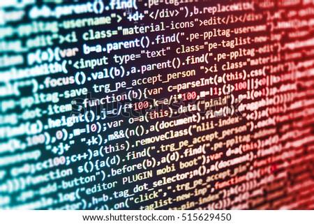 Free photos Software development  Technology background