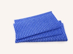 Disposable Blue Dish Cloth Or J Cloth Using For Cleaning Purpose