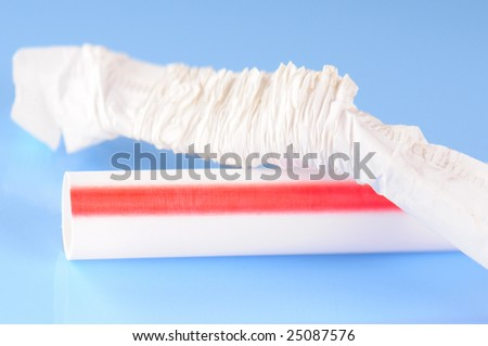 disposable drinking straw with wrapper
