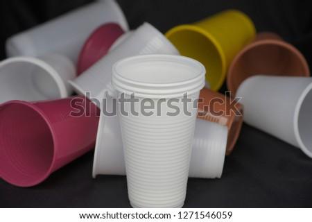 Disposable Plastic Cups #1271546059